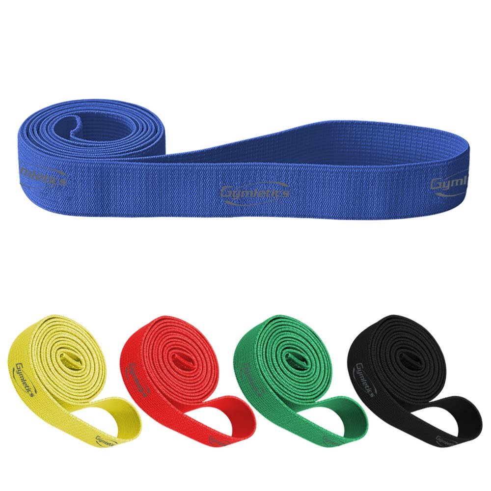 Pull Up Assistance Band, Fabric Stretch Resistance Bands,Heavy Duty Workout Exercise Band, Mobility Band Powerlifting Band for Body Stretching,Resistance Training,Physical Therapy, Home Workouts. by Gymletics