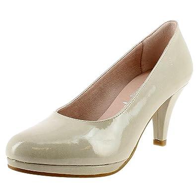 Dorking 7118 beige - Chaussures Escarpins Femme