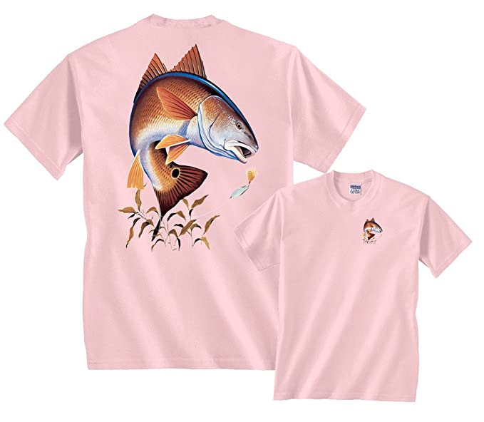 cf906c3b3e588 Amazon.com  Fair Game Redfish Fishing T-Shirt  Clothing