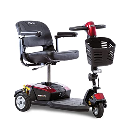 Amazon.com: Go-Go LX with CTS Suspension 3-Wheel 18 AH ...