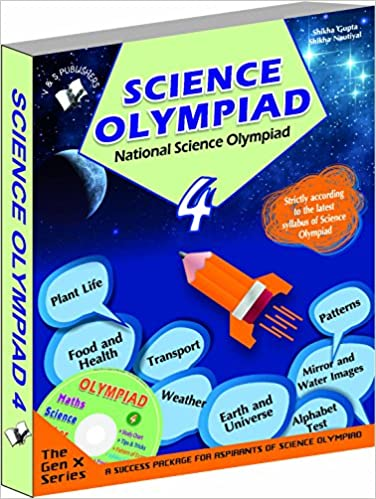 Buy National Science Olympiad - Class 4 with CD: Theories