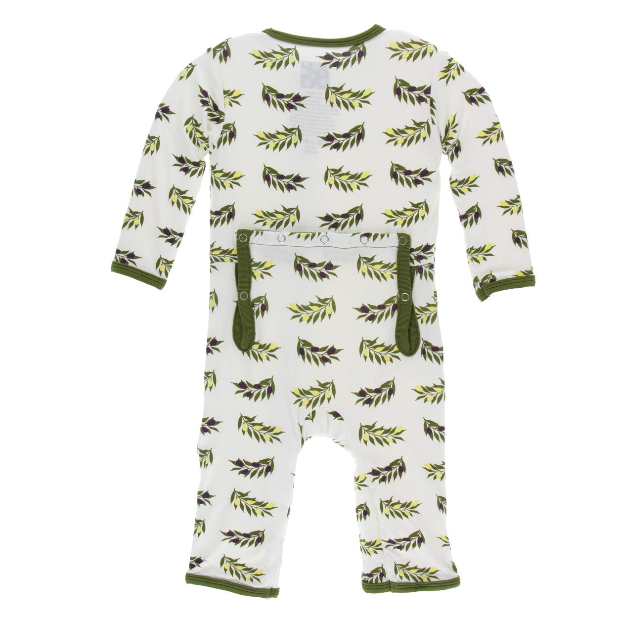 Kickee Pants Bamboo Coverall Zipper PRD-KPZCA394F17D
