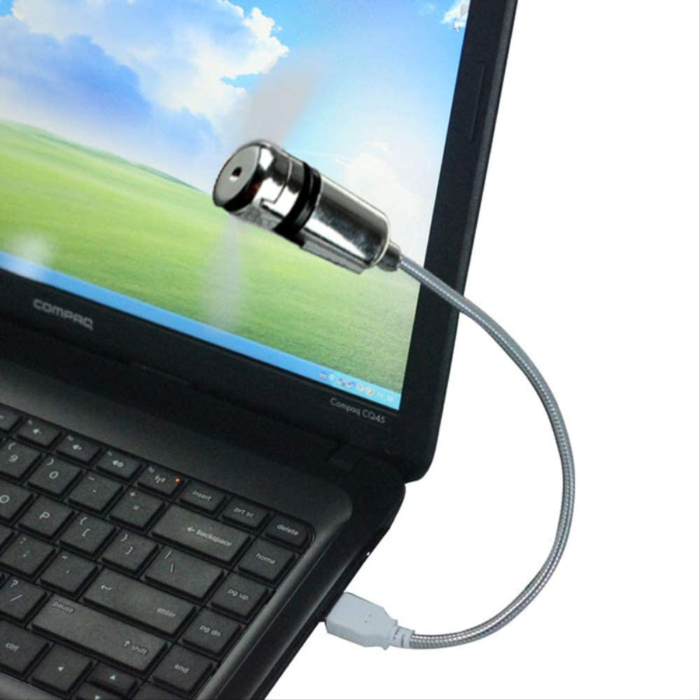 Poratable Energy Saving Flexible Mini USB Cooling Desk Fan For Notebook Laptop