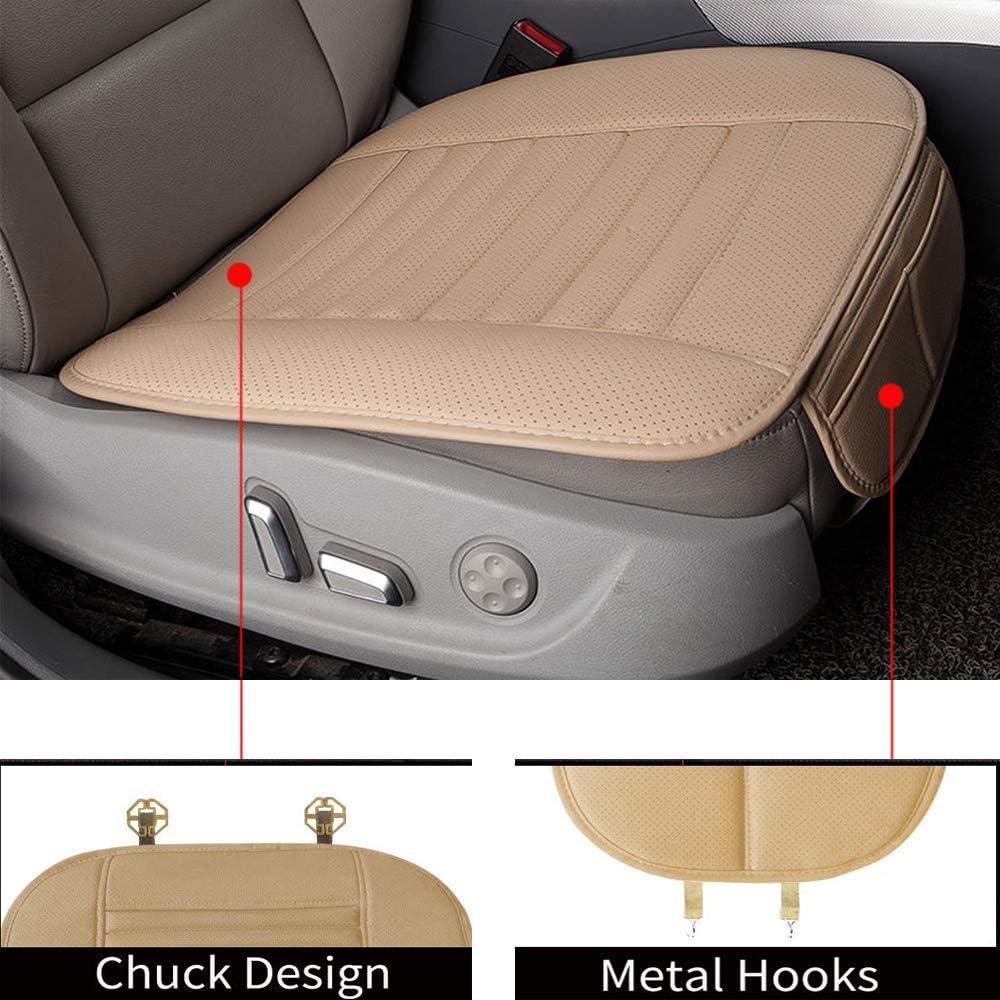 Ecloud Shop/® Komfortables Autositzkissen-Polster Four Seasons Universal Car Driver Innenraum Sitzbezug-Pads f/ür Kfz-Verbrauchsmaterialien Beige