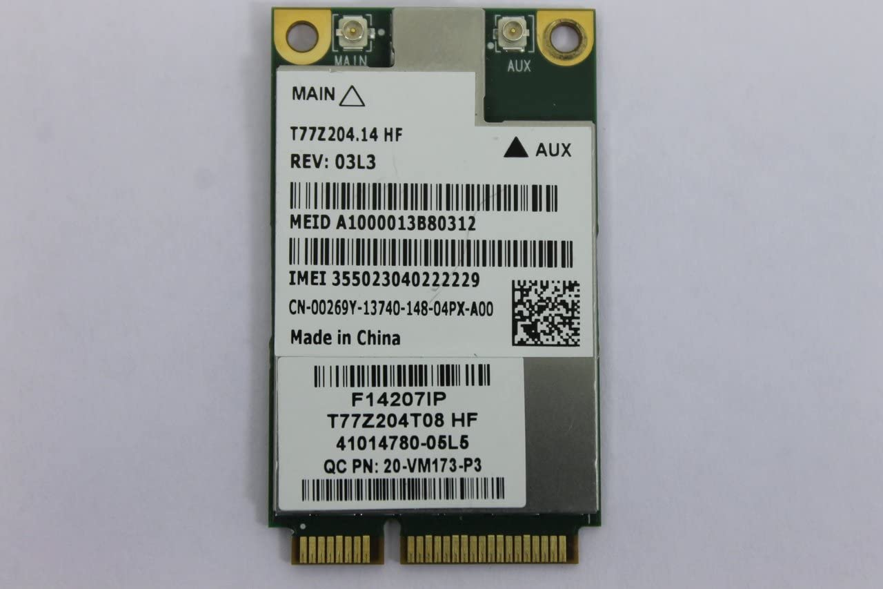 0269Y - Wireless Modem 4G LTE; WWAN Mini PCI-E DW5630 Int. Precision M6700