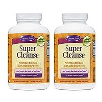 Nature's Secret Super Cleanse Extra Strength Toxin Detox & Gentle Elimination Body...