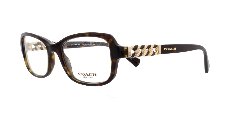 cbc0afd652 Amazon.com  Coach HC 6075Q Eyeglasses 5002 Black  Clothing