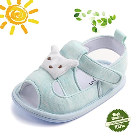 20fb13b40 Morbuy Baby Shoes Unisex Newborn, Trendy Style Infant Toddler Sandals Boy  Girls Comfortable Cotton First