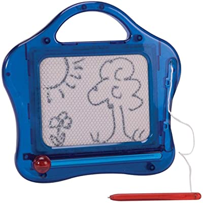 Schylling Mini Magnetic Sketch and Erase - Colors May Vary Novelty: Toys & Games [5Bkhe1104413]