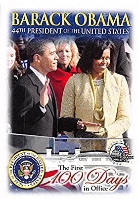 Barack Obama & Michelle Obama trading card (44th President of the United States, Induction) 2009 Merrick Mint #3