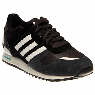 b911b02e5 Adidas ZX 700 Grey Black Mens Trainers Size 10.5 UK  Amazon.co.uk  Shoes    Bags