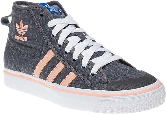 Locura sal liderazgo  adidas - Nizza Altos Chica, Color Gris, Talla 35,5 EU Niño: Amazon.es:  Zapatos y complementos