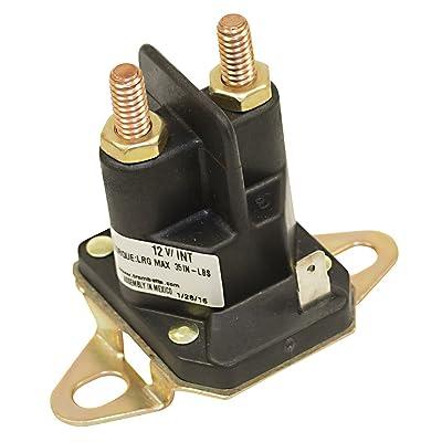 Stens 435-700 Starter Solenoid, Replaces Husqvarna 539101714, Black: Industrial & Scientific