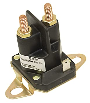 61wYq6IeFRL._SY355_ amazon com stens 435 700 starter solenoid garden & outdoor  at gsmx.co