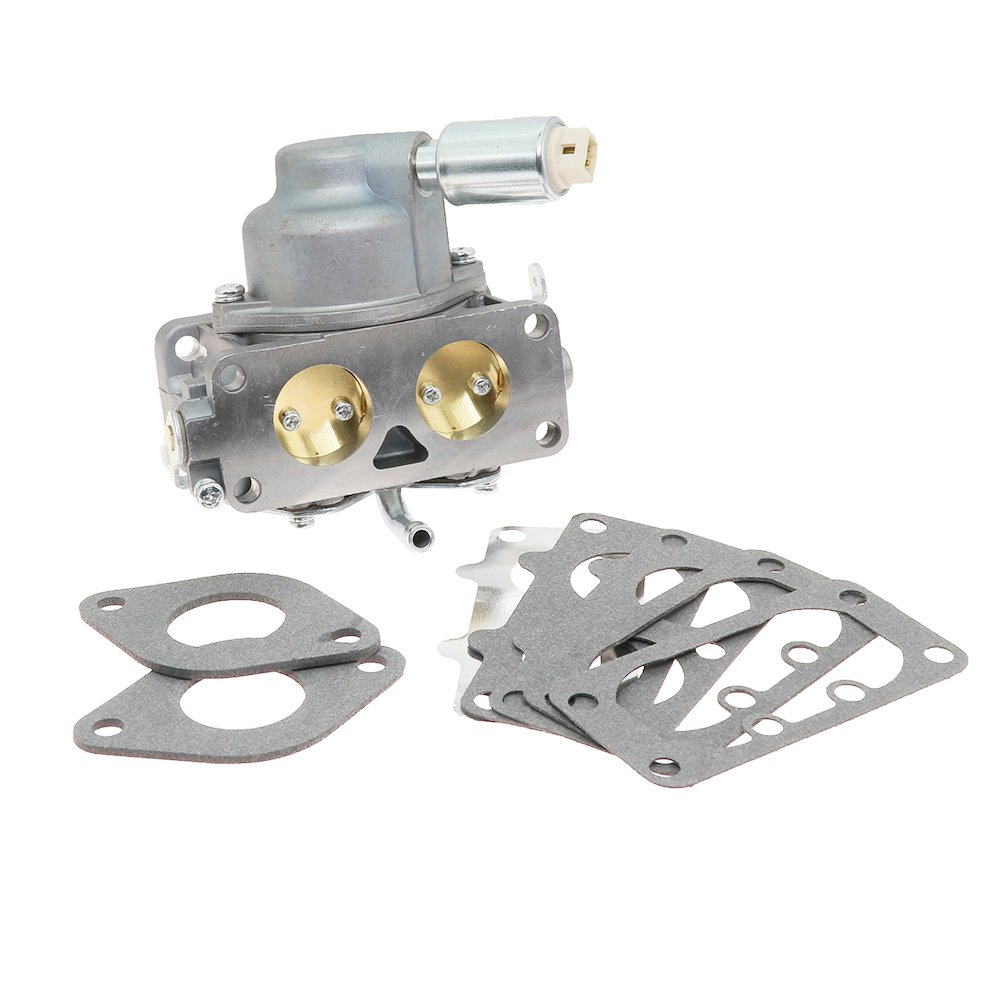 New 791230 Carburetor Carb Replacement with Mounting Gasket Kit for Briggs & Stratton V-Twin 4 Cycle 20HP 21HP 23HP 24HP 25HP Vertical Engines Replace OE# 799230 699709 499804 MIA10632