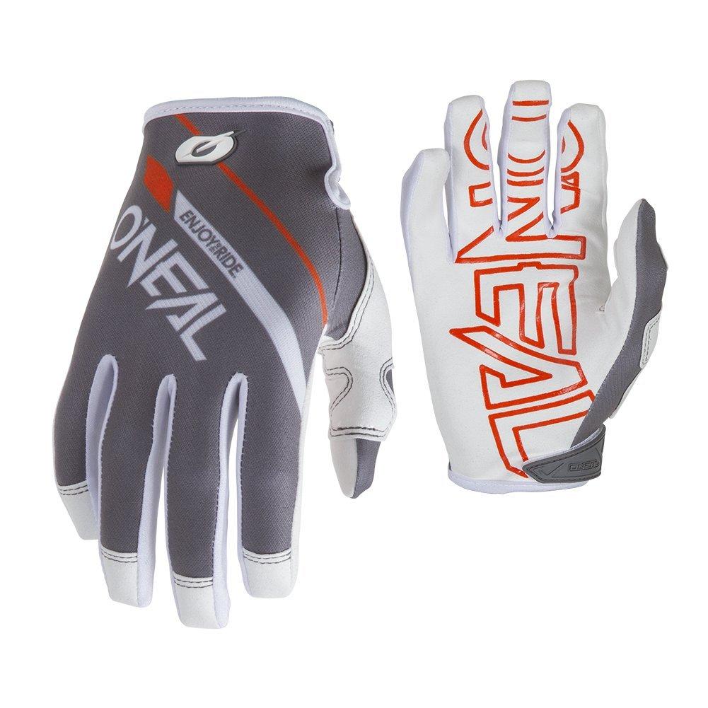 O'Neal Mayhem Rizer MTB Fahrrad Handschuhe DH Downhill All Mountain Bike MX Cross, 0385, Farbe Weiß, Größe S O' Neal 0385-R08
