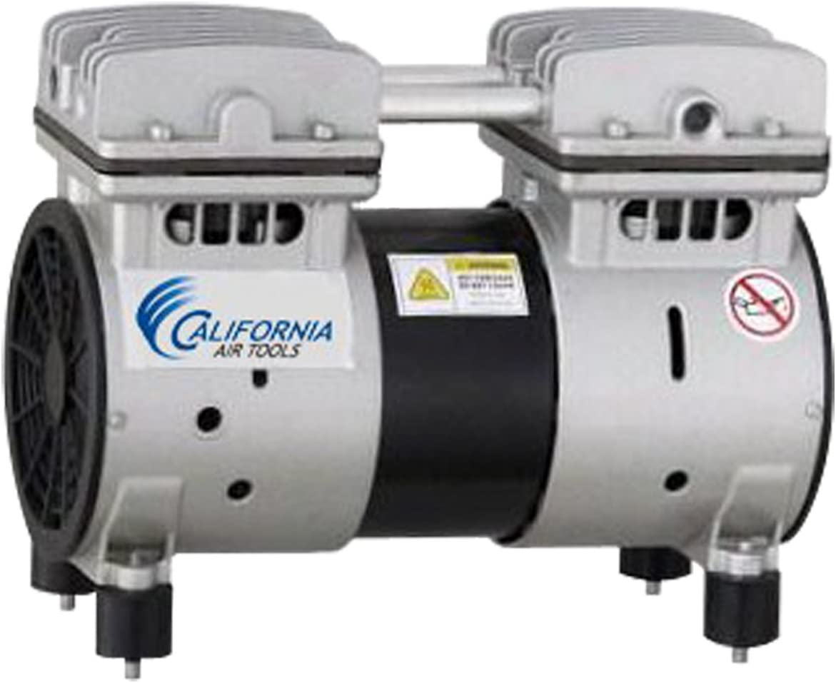 California Air Tools MP50 1 2 HP Ultra Quiet and Oil-Free Air Compressor Pump Motor