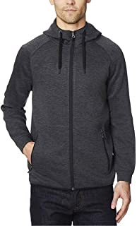 32 Degrees Heat Mens Full Zip Fleece Hoodie Sweatshirt Black Variety Sizes