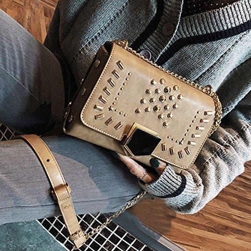 Millya - Bolso mochila  para mujer caqui caqui