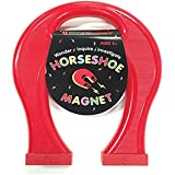 Dowling Magnets Giant Horseshoe Magnet (8.5 inches high x 7 inches Wide x 1.125 inches Thick), x x, Red
