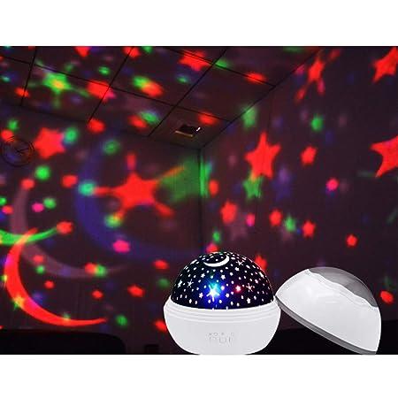 LXZ Estrella lámpara del proyector de la Estrella giratoria de la ...