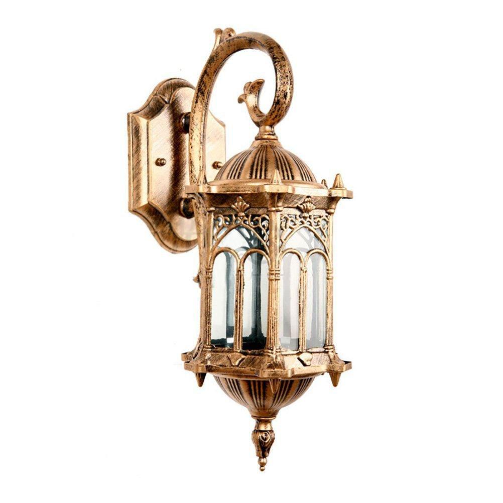 AOKARLIA Applique Vintage All'aperto Lampada A Muro, Creativo Gate Lights Luci Del Balcone