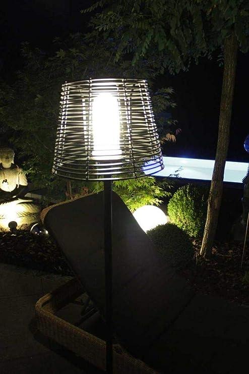 25cm f/ür Innen und Au/ßen point-garden LED Leuchtkugel mit Farbwechsel
