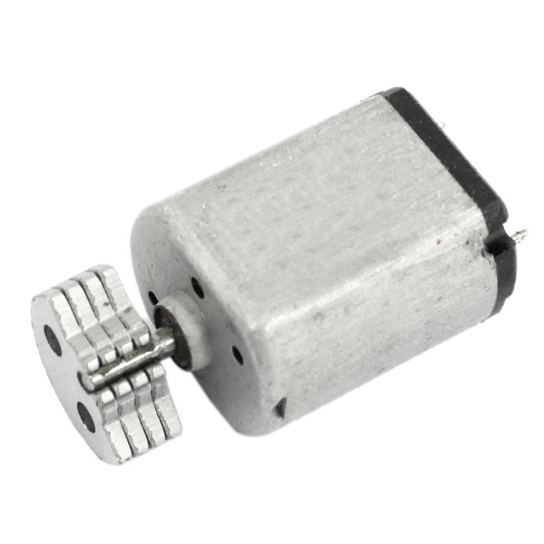 SODIAL(R) DC1.5V-9V 0.08A 3200RPM Output Speed Micro Vibrating Motor, 18x15x12mm Silver 4331908738