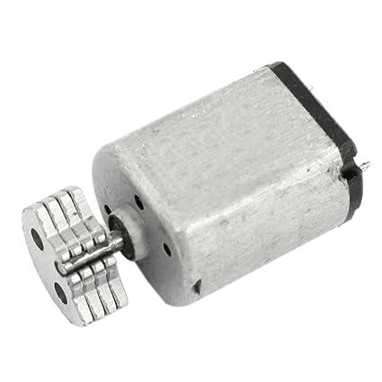 bf463a02299 3200RPM Motor de vibracion de DC - SODIAL(R) DC1.5V-9V 0.08A 3200RPM ...