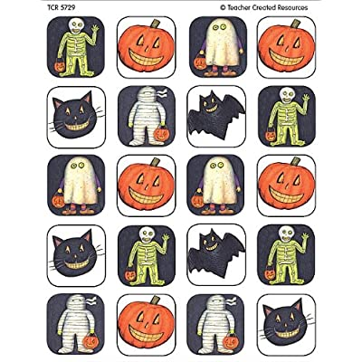 Teacher Created Resources Halloween Stickers from Susan Winget, Multi Color (5729): Office Products