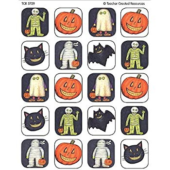 Amazon.com: Teacher Created Resources Halloween Stickers from ...