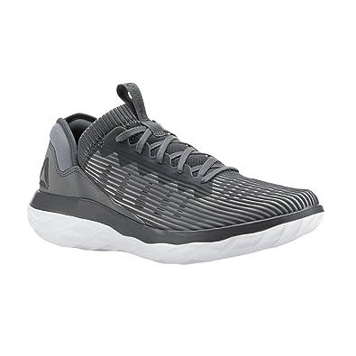 1c305df448e9c9 Reebok Men s Astroride Forever Sneaker Alloy Stark Grey Black White 14 D(