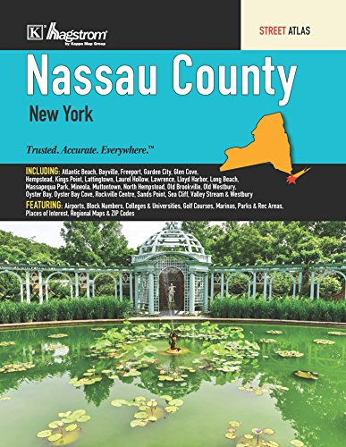 Nassau County, NY Street Atlas Kappa Map