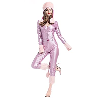 Amazon.com MV Women Sexy Christmas Costumes Suit Siamese Cat Girl Winter Snowman Leather Paint Clothing  sc 1 st  Amazon.com & Amazon.com: MV Women Sexy Christmas Costumes Suit Siamese Cat Girl ...