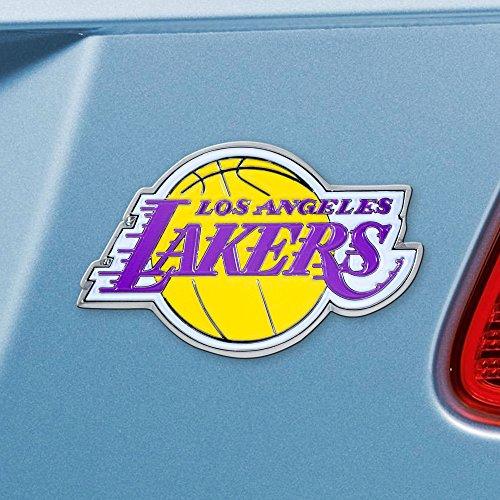 Auto Lakers - FANMATS 22222 Color Emblem (Los Angeles Lakers)