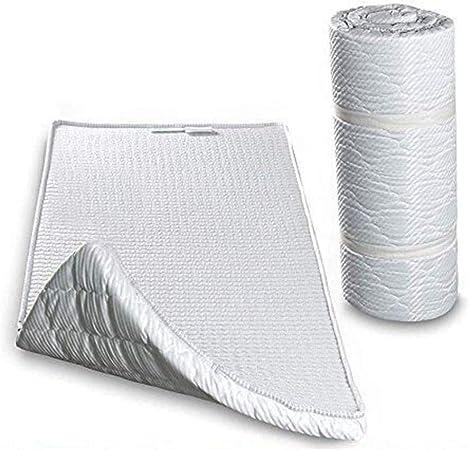 EVERGREENWEB MATERASSI /& BEDS Twist Bed Easy materassino waterfoam arrotolato supporto ergonomico piazza e mezza 120 x 195