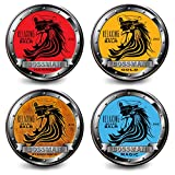 Bossman Relax Beard Balm 4 Pack All Scents – All Natural Beard Balm 2 OZ by Brands Review
