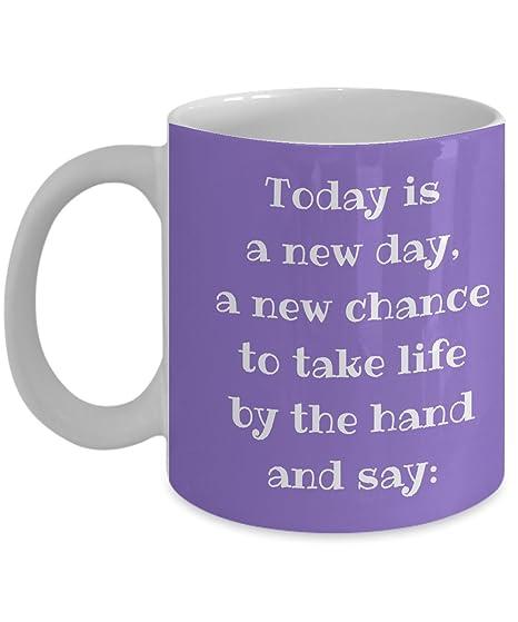 Amazon.com: Inspirador. Hoy Es Un Nuevo Día Para Tomar La ...