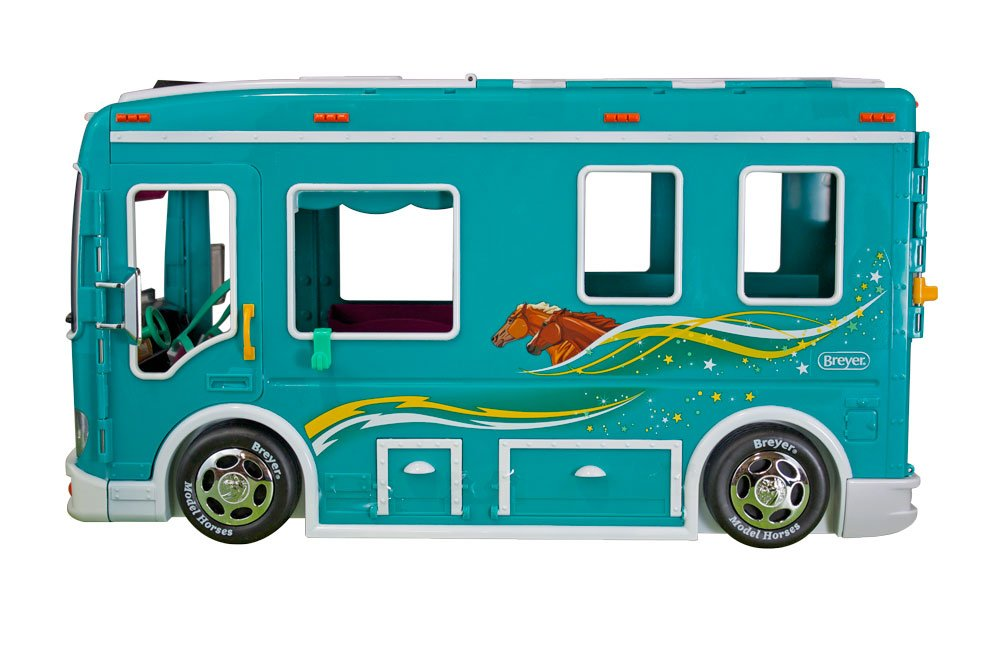 Breyer Classics Horse Cruiser Vehicle Teal (1: 12 Scale), 19'' x 8.5'' x 10.25'', Multicolor by Breyer (Image #4)