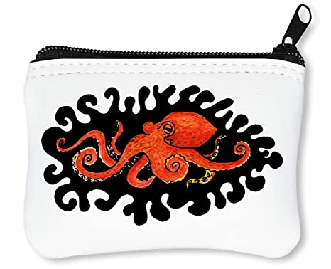 comprare popolare f9b5d 041c8 Octopus Portafoglio Con Cerniera Porta Monete: Amazon.it ...