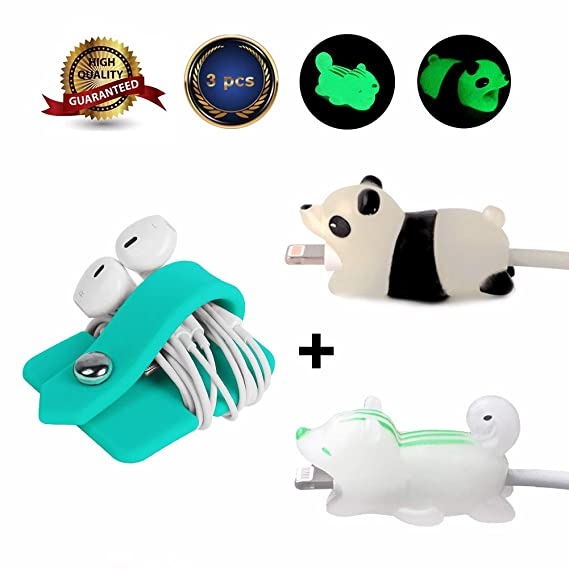 Cellphones & Telecommunications Animal Bite Usb Cable Protector Cable Organizer Data Line Management Charging Safe Protection Cable Winder For Xiaomi Redmi Case Selected Material