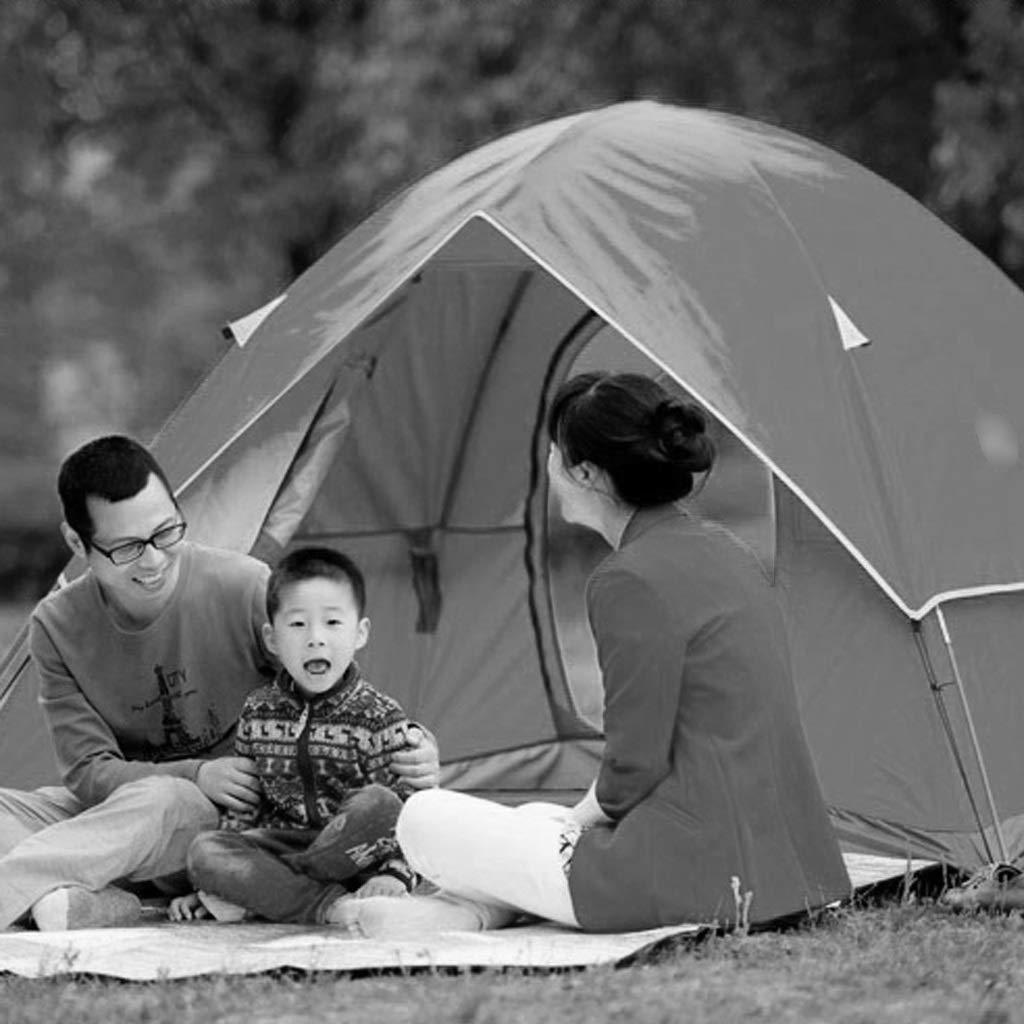 MJY Tente Tente Extérieure Double Coupe-Vent et Imperméable 2-3 Personnes Camping Tente Double Couleur En Option,Bleu,200  200  135cm Bleu 200  200  135cm