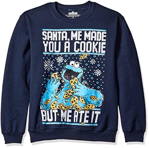 Sesame Street Monster Christmas Sweatshirt