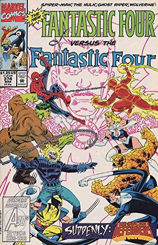 Fantastic Four (Vol. 1) #374 VF/NM ; Marvel comic book