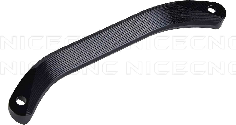 NICECNC Black Aluminum Rear Lift Grab Handle Bar for XC XCF SX SXF SMR EXC EXCF 125 250 300 350 450 500