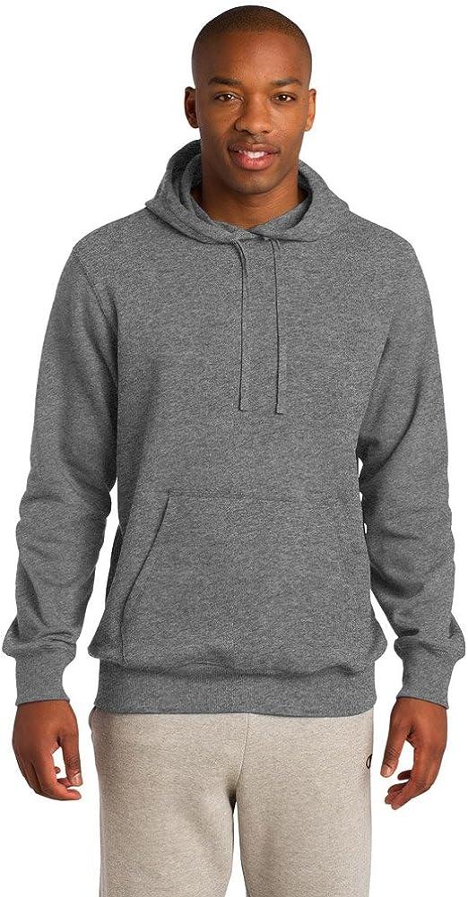 Vintage Heather Sport-Tek Mens Pullover Hooded Sweatshirt