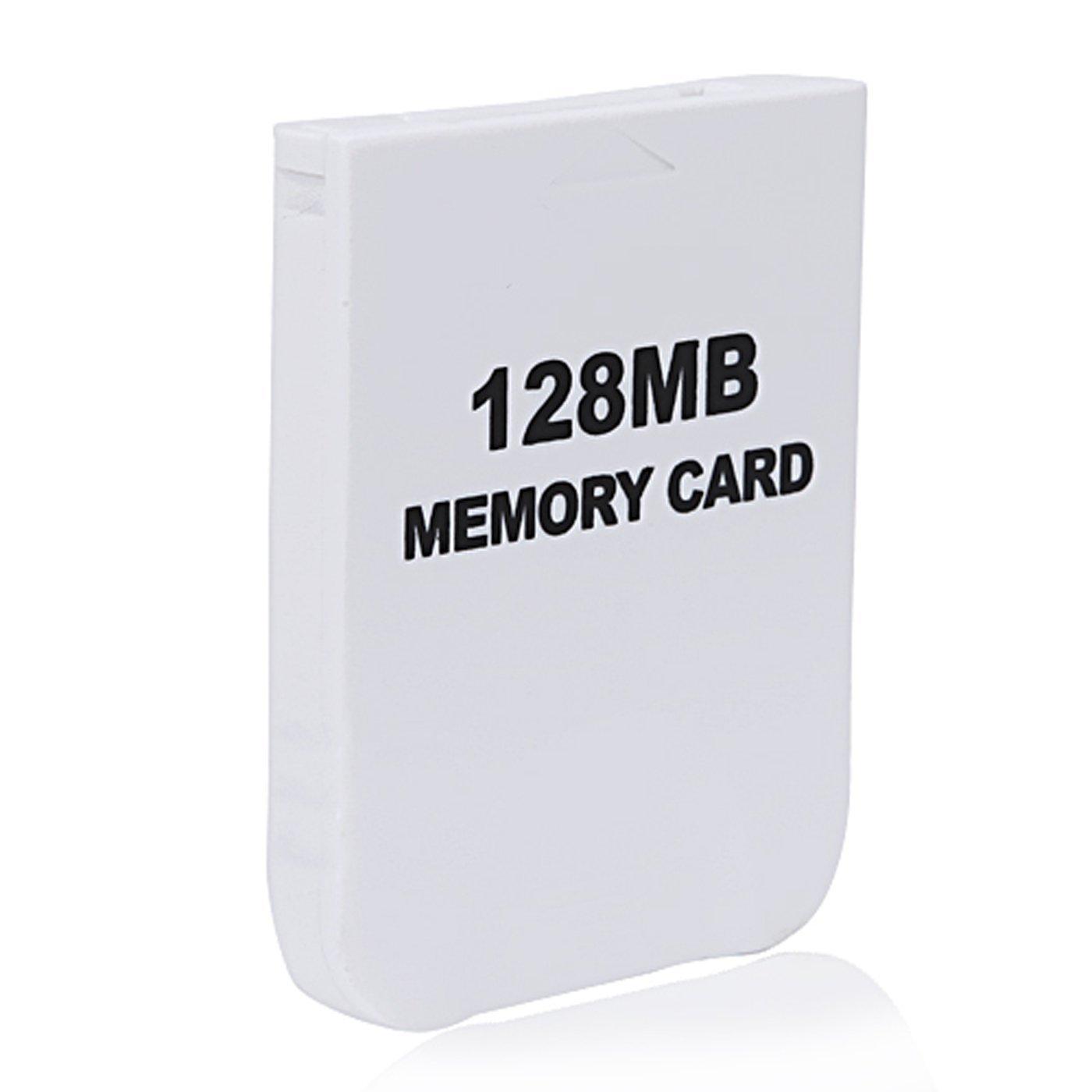 eForBuddy 128MB GC Memory Card for Nintendo Wii GameCube, Black by eForBuddy