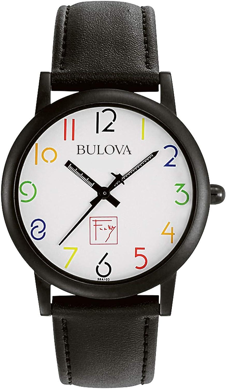 Bulova Men s 98A103 Frank Lloyd Wright White Dial Watch
