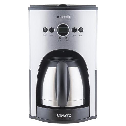 Exceptional H.Koenig STW25 Programmierbare Kaffeemaschine Mit Thermoskanne 1,5 L, 1100  W,