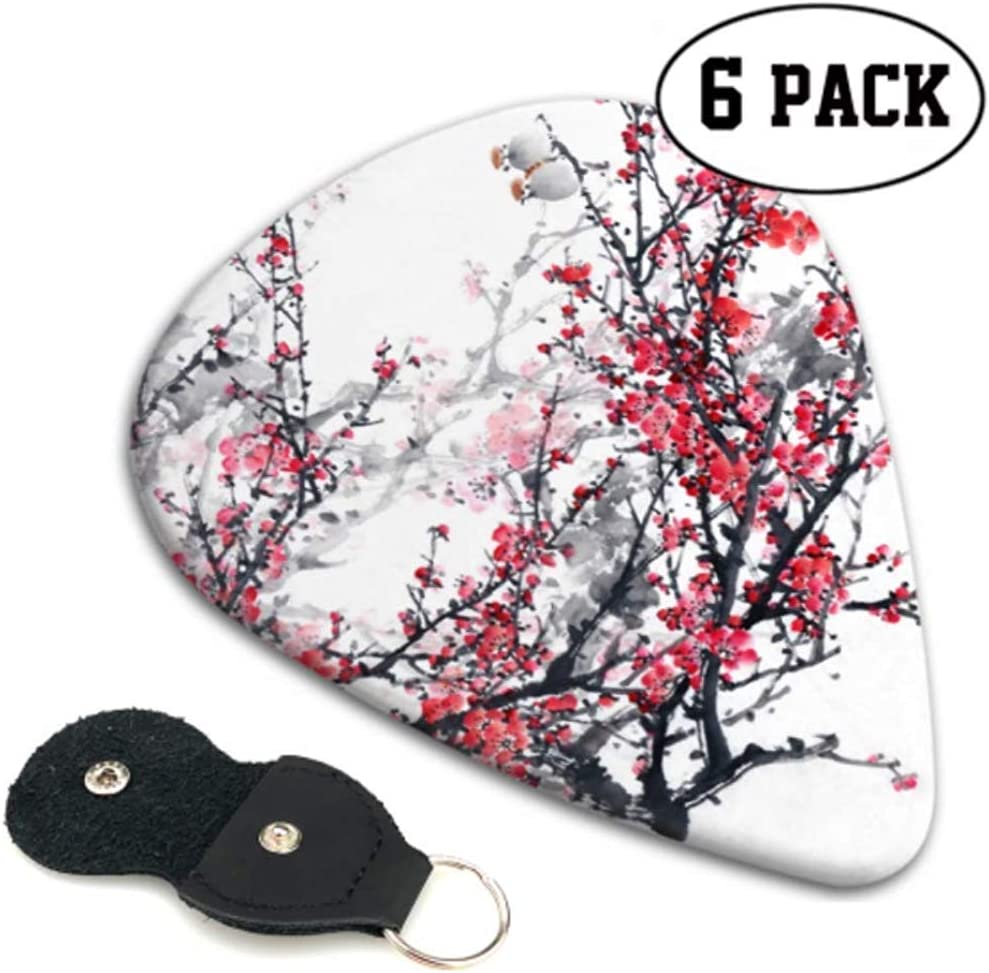 Plum Blossom On White Traditional Chine Selecciones de guitarra ...